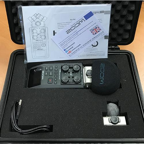ZOOM H6 Flash-Recorder