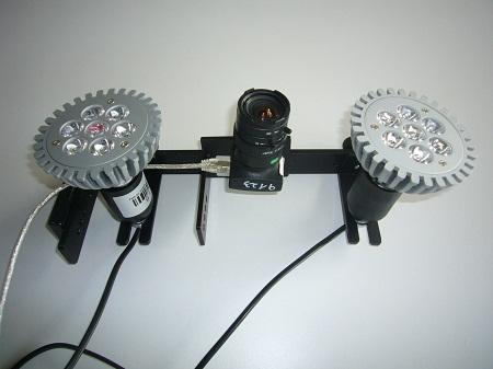 HD Kameras + Led-Beleuchtung